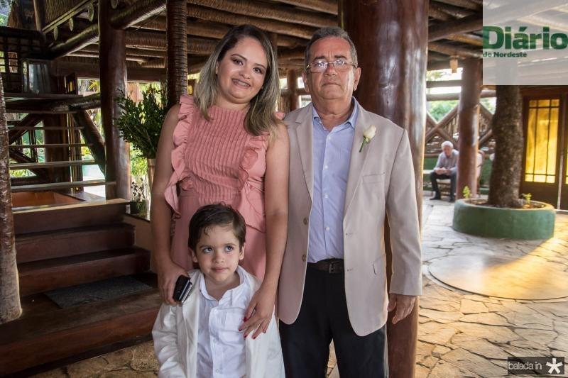 Camila, Joao Gabriel e Viana Junior
