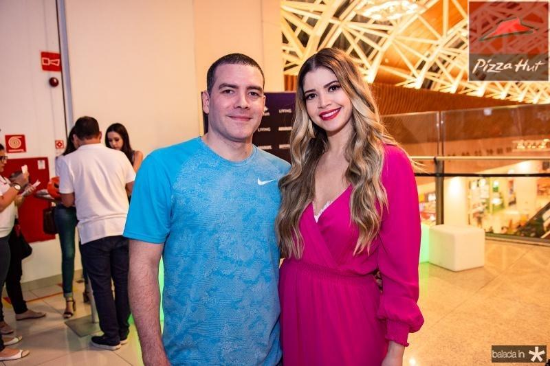 Cristiano Bezerra e Natalia Queiroz
