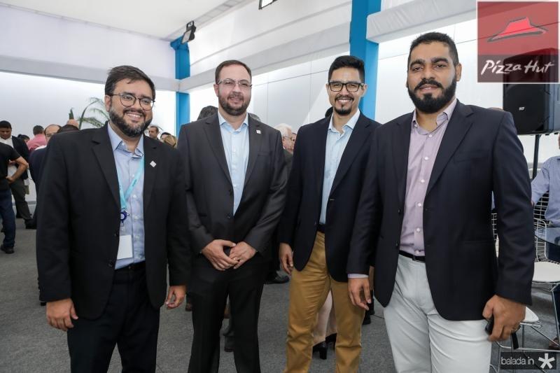 Felipe Noleto, Vitor Bocato, Anderson Nunes e Nazaro Brito
