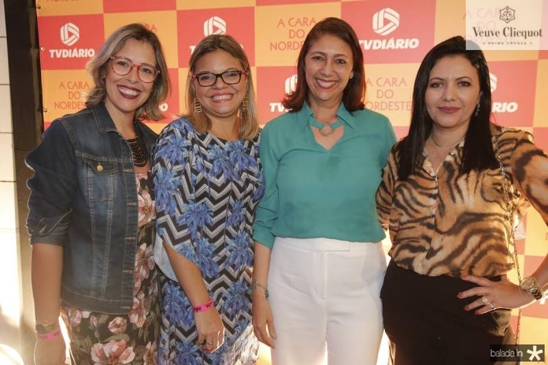 Alessandra Garcia, Gi Alves, Linda Tavares e Kesia Melo