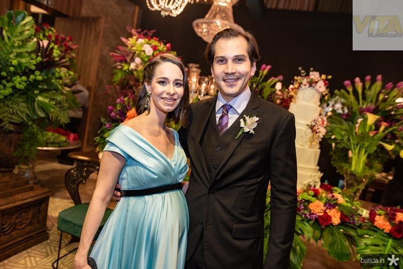 Leticia e Leonardo Brito