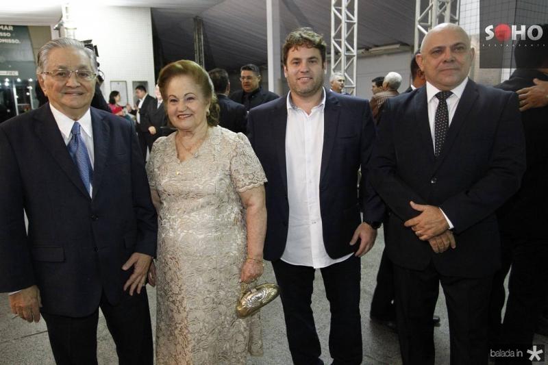 Francisco Lavanery e Maria de Lurdes e Rafael Wanderley e Carlito Lira