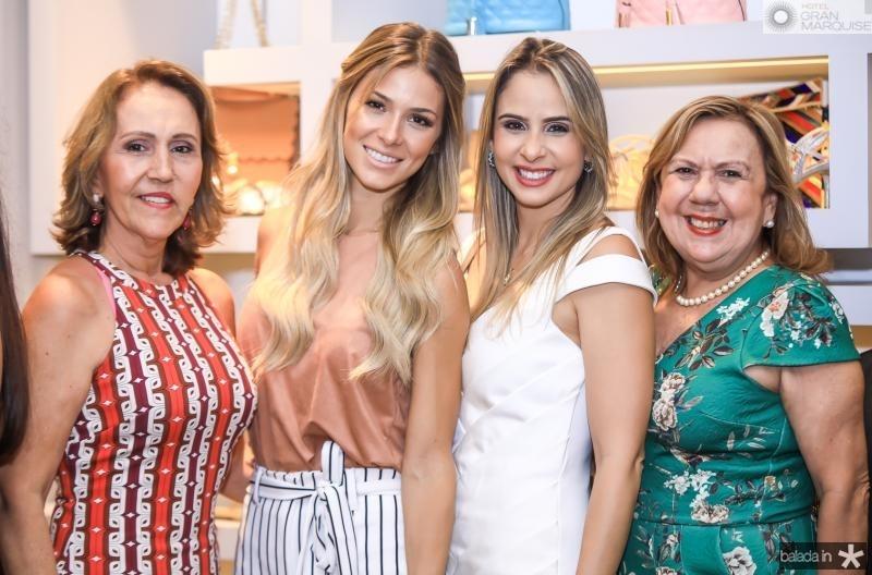 Glaucia Cito, Bruna Waleska, Ingrid Gurgel e Lucinha Oliveira