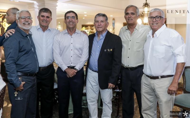 Manoel, Guilherme, Estevam, Henrique, Jose e Alexandre Teofilo