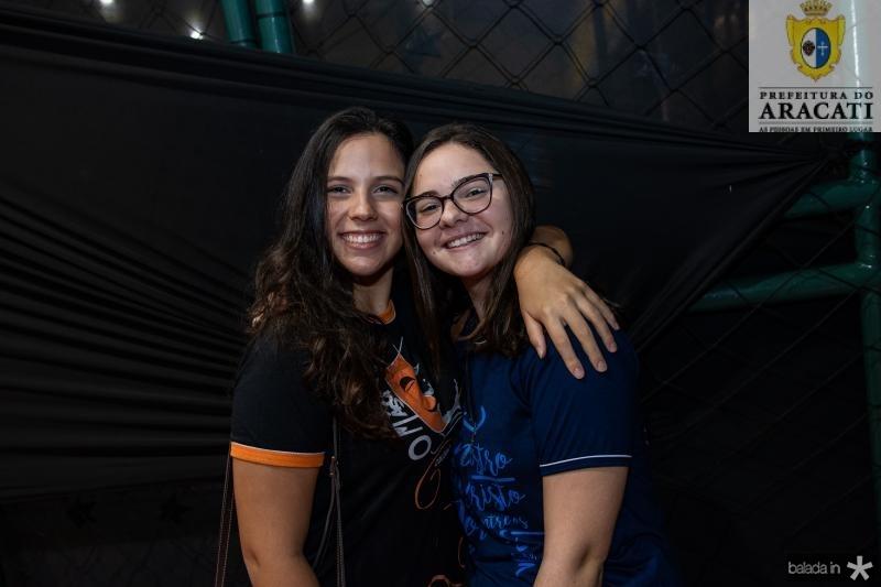 Gabriela Rosas e Juliana Moraes
