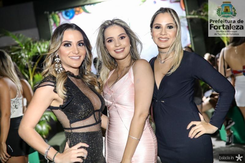 Amanda Cavalcante, Bruna Costa e Flavia Cambraia
