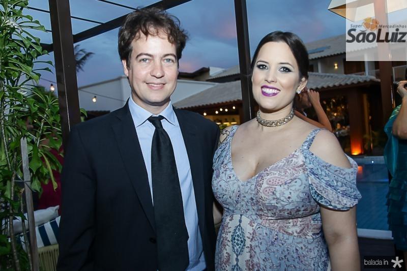 Julio Brise e Luana Machado