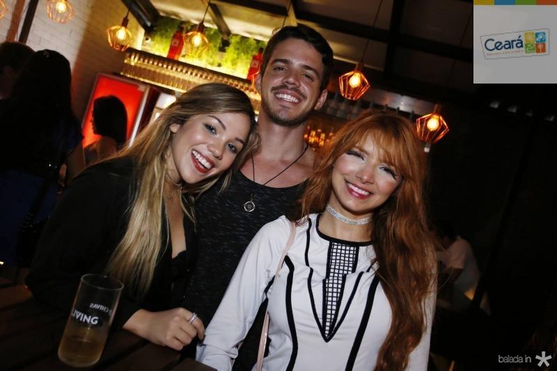 Romena Porto, Bruno Vasconcelos e Cristiany Cavalcante
