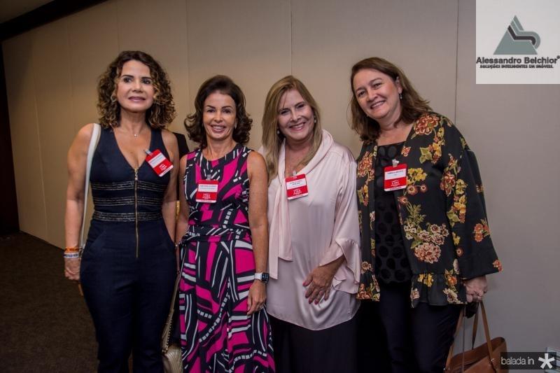 Fernanda de Freitas, Vera Ponte, Ritelza Cabral e Fabricia Abrantes