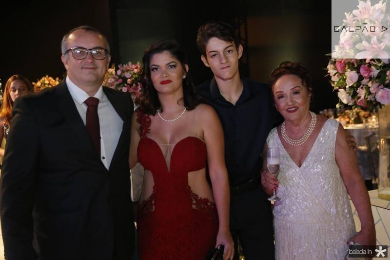 Marcelo Machado, Ionara, David e Ana Lucene,