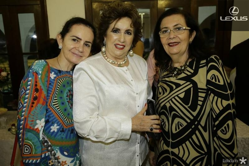 Marcia Cavalcante, Leda Maria e Helena Cavalcante