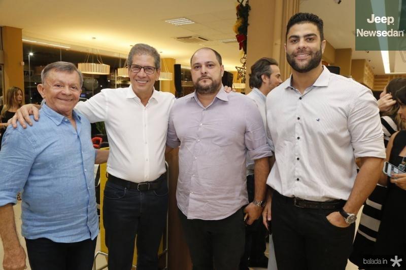 Edilmo Cunha, Severino Neto, Silvio Goncalo e Diego Reis