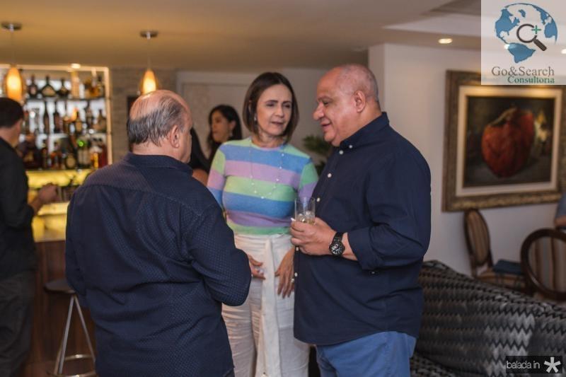 Philomeno Junior, Carla Sleiman e Pedro Alfredo