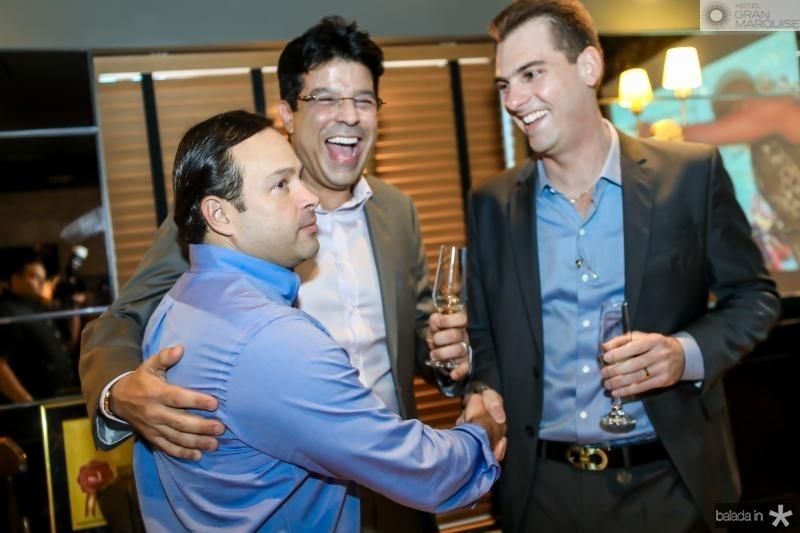 Igor Barroso, Ronaldo Otoch e Felipe Teixeira