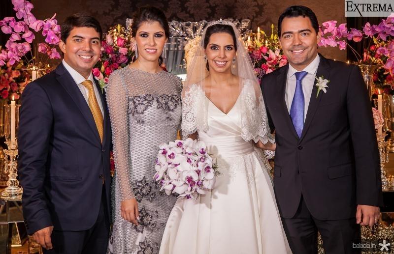 Geraldo, Flavia, Carla e Andre Laprovitera