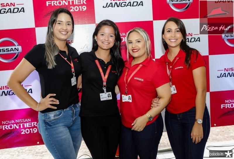 Tereza Fernandes, Kimbelly Sousa, Anna Thamisa e Elaine Cristine