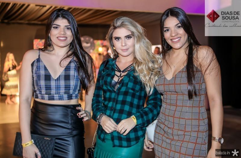 Ingrid Nobre, Cecilia Rodrigues e Tais Nobre