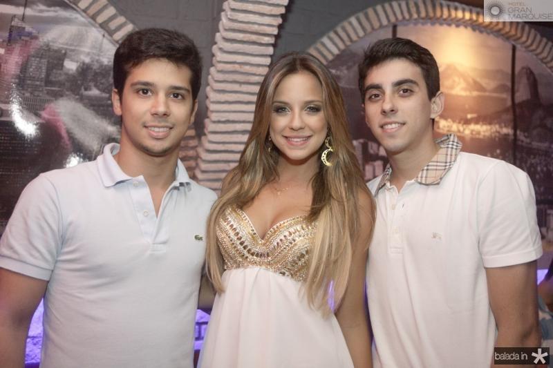 Rafael Fujita, Fernanda Levy e Diego Braz