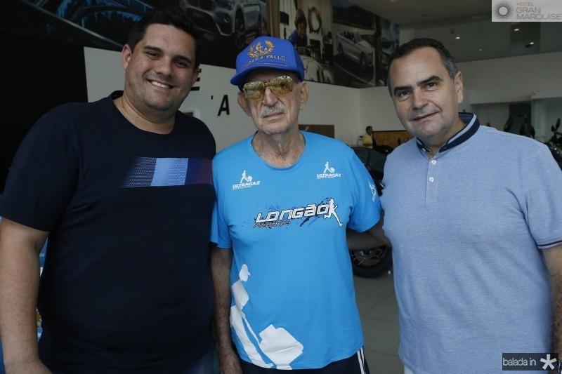 Augusto Cesar, Aluisio e Alisio Cavalcante Junior