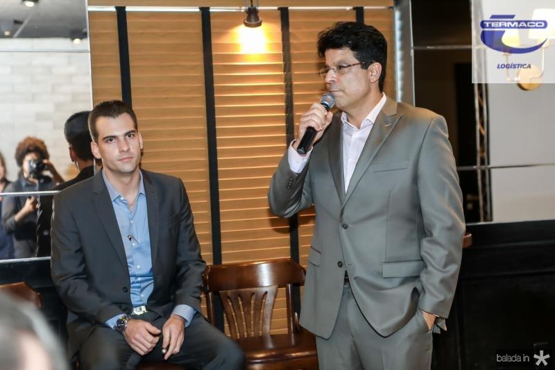 Felipe Teixeira e Ronaldo Otoch