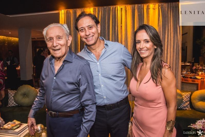Humberto, Sergio e Alessandra Bezerra
