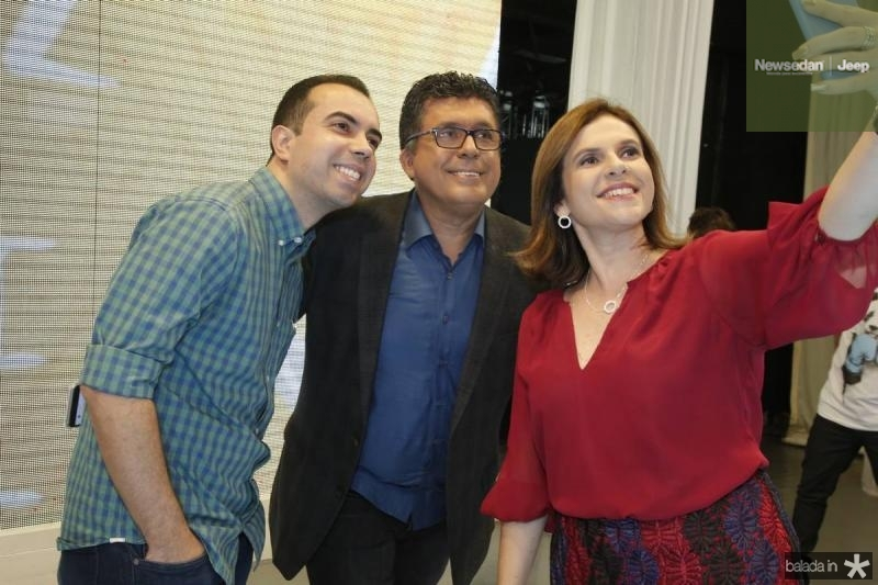 Antero Neto, Danielly Portela e Tony Nunes