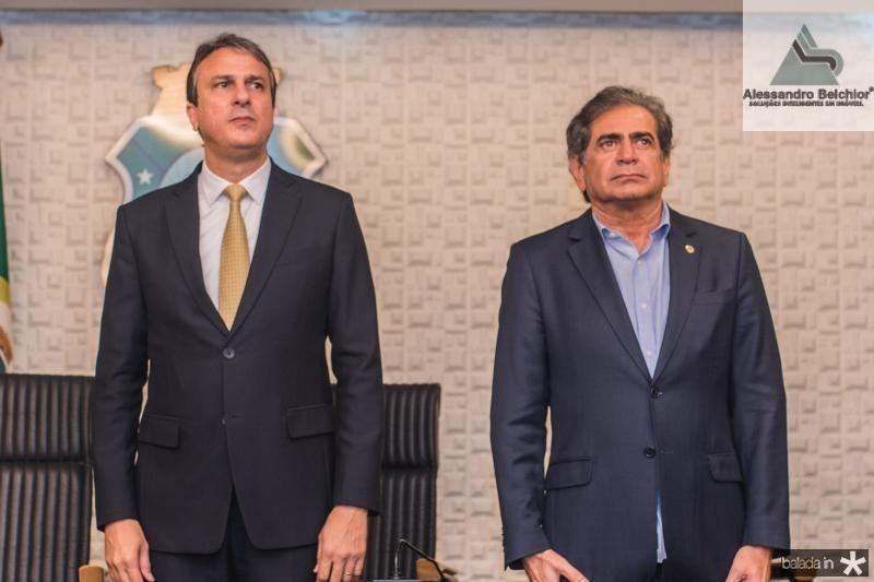 Camillo Santana e Zezinho Albuquerque