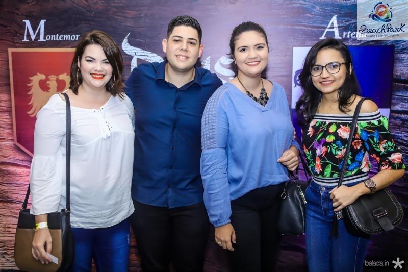 Thyala Oliveira, Pedro Santos, Marilia Nunes e Gisela Araujo