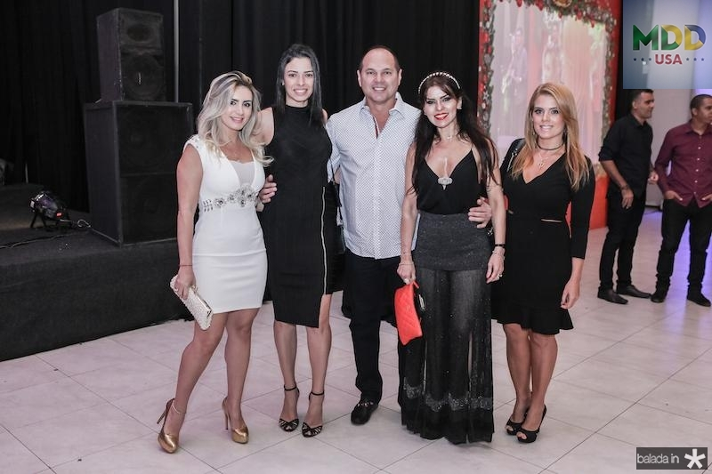 Jaqueline Maia, Adriana Martins, Freitas Junior, Zildinha Pessoa e Leticia Studart