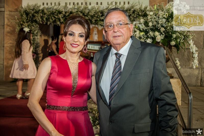 Luiza Alice e Alberto Machado