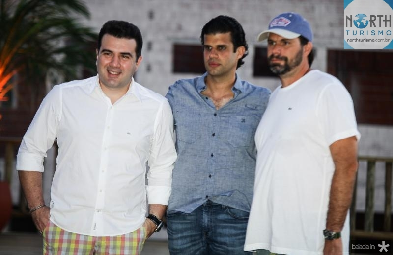 Danilo Dias, Bruno Borges e Luis Antonio Valadares
