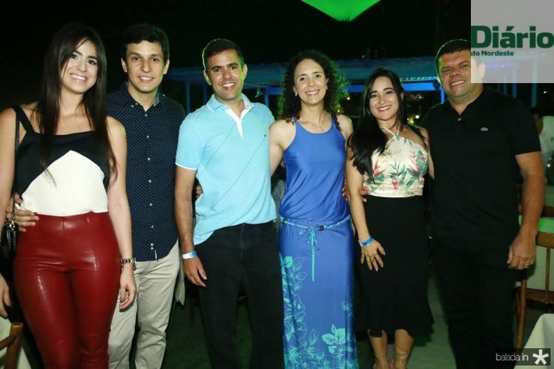 Priscila Paiva, Enio Correa, Rodrigo Sales, Sofia Negreiros, Leidiane Fonseca e Douglas Freitas
