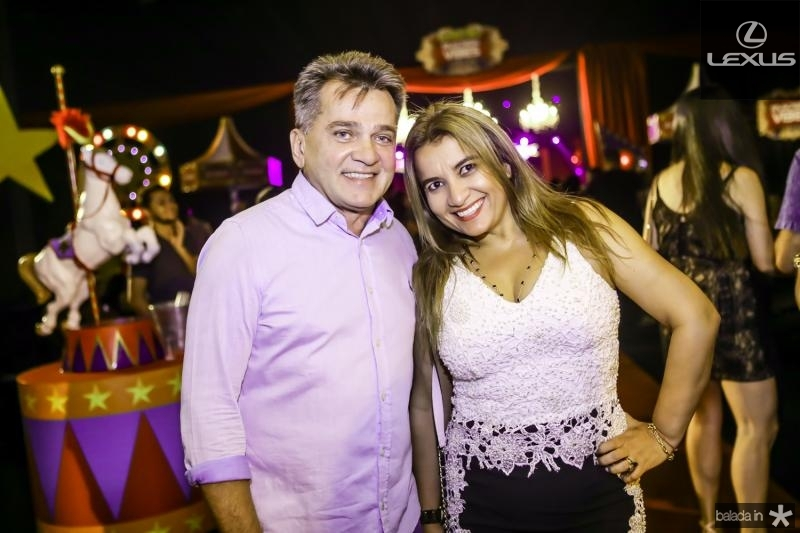 Watson Viana e Fabiola Falcao