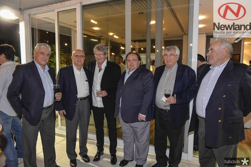 Luis Lourenco, Jaque Goldemberg, Jose Paulo Emsenhuber, Manoel Macedo, Roberto Macedo e Nelson Findeis