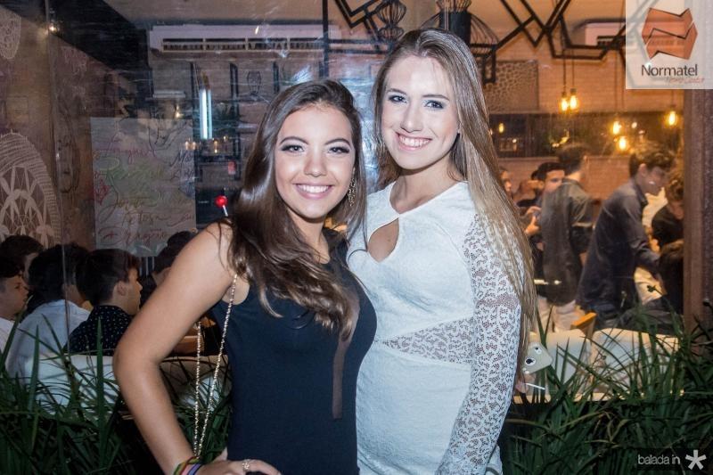 Raysa Mendes e Isabela Viana
