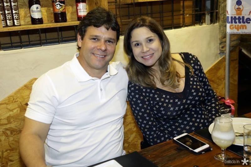 Sacha e Ingrid Juca