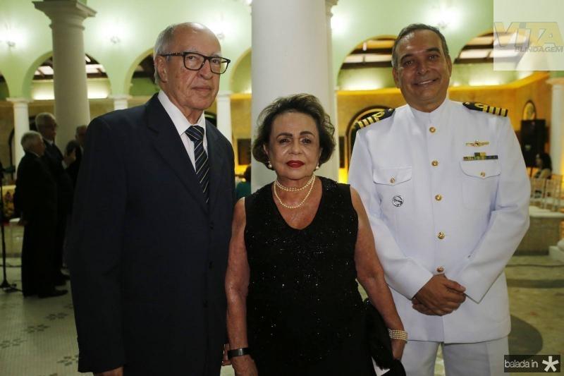 Lucio Alcantara, Eliane de Castro e Comandante Madson Cardoso