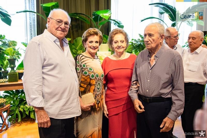 Luis Marques, Regina Aragao, Norma Bezerra e Humberto Bezerra
