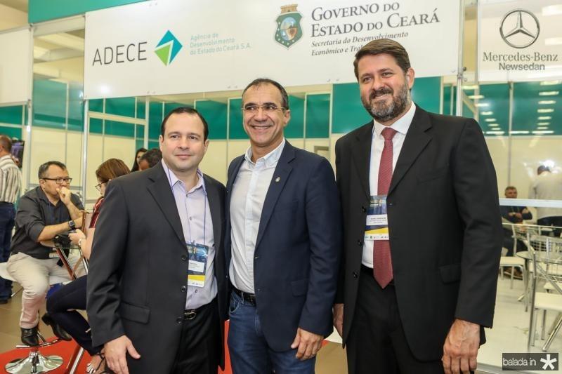 Igor Barroso, Eduardo Neves e Rafael Rodrigues
