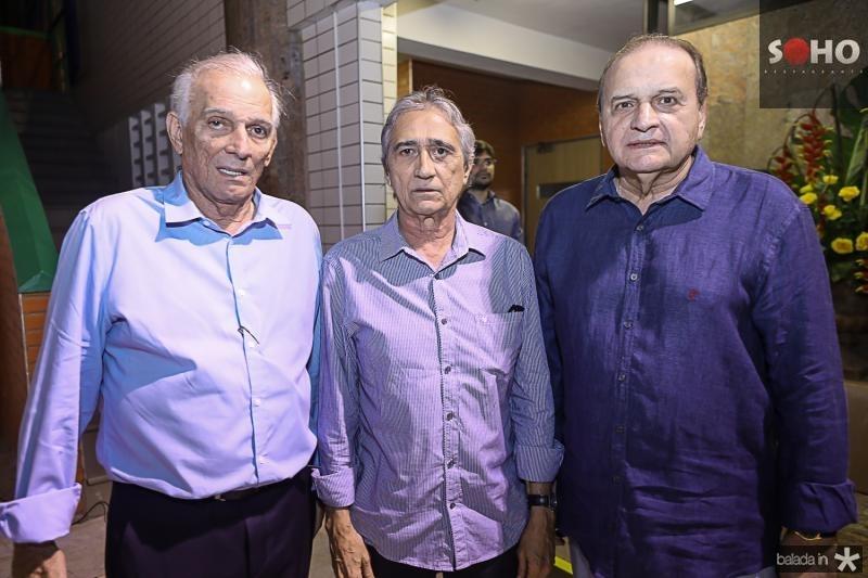 Jaime Machado, Flavio Parente e Carlos Augusto Morais