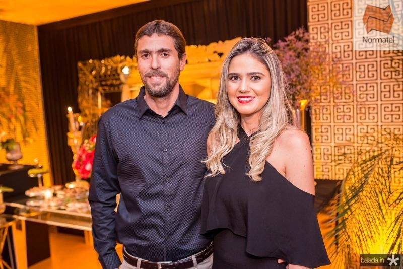 Paulo Ivo e Veronica Dias