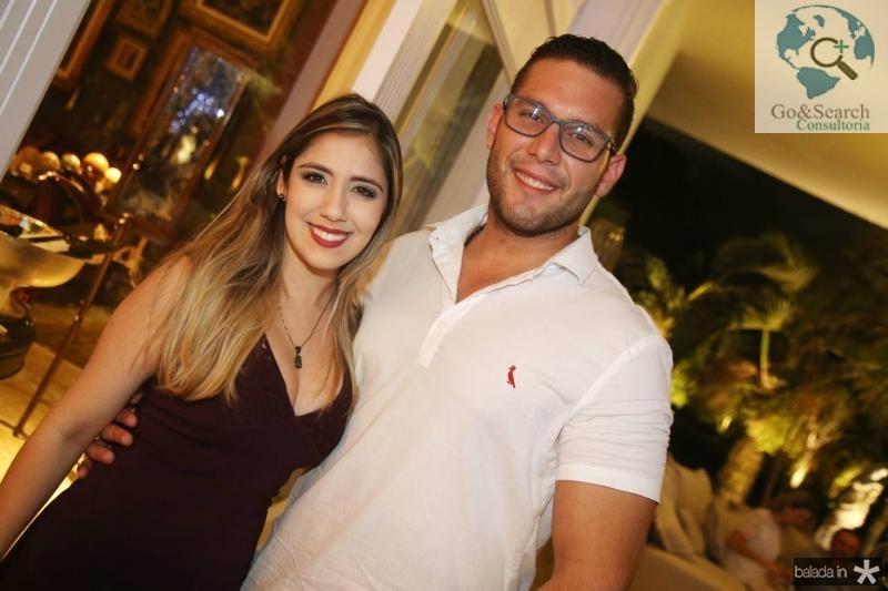Juliana Teixeira e Luiz Barros de Oliveira