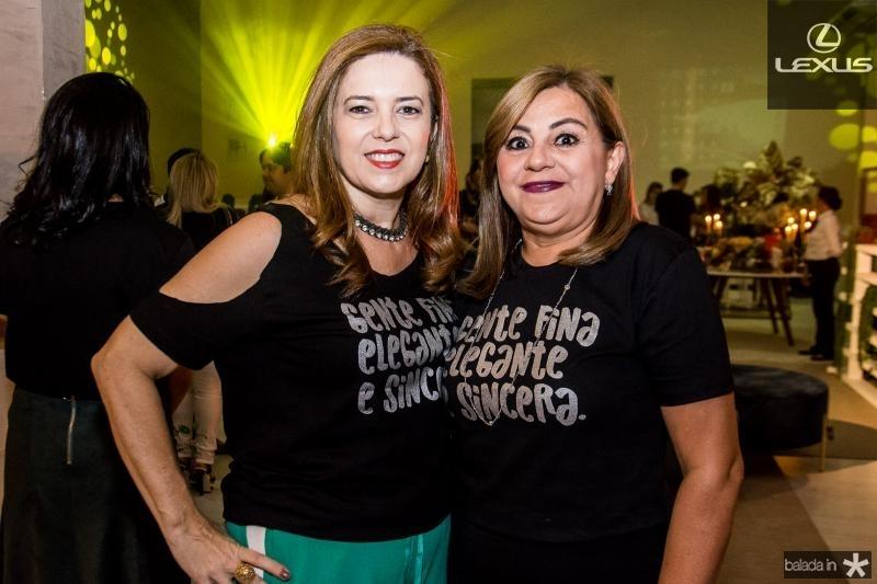 Ines Cavalcante e Marta Pinheiro