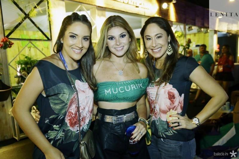 Natalia Marques, Natasha Brigido e Larissa Coelho