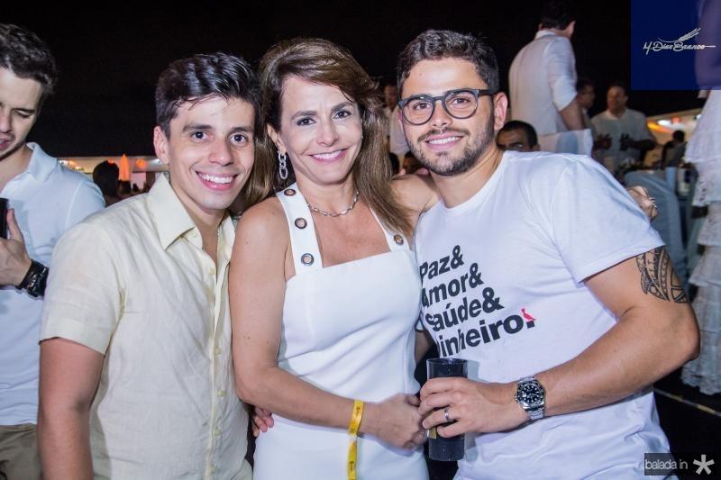Edimar Feitosa e Ana Clara Ferreira Gomes e Ivan Bezerra
