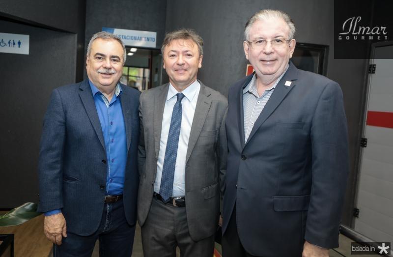 Assis Cavalcante, Mauricio Filizola e Ricardo Cavalcante