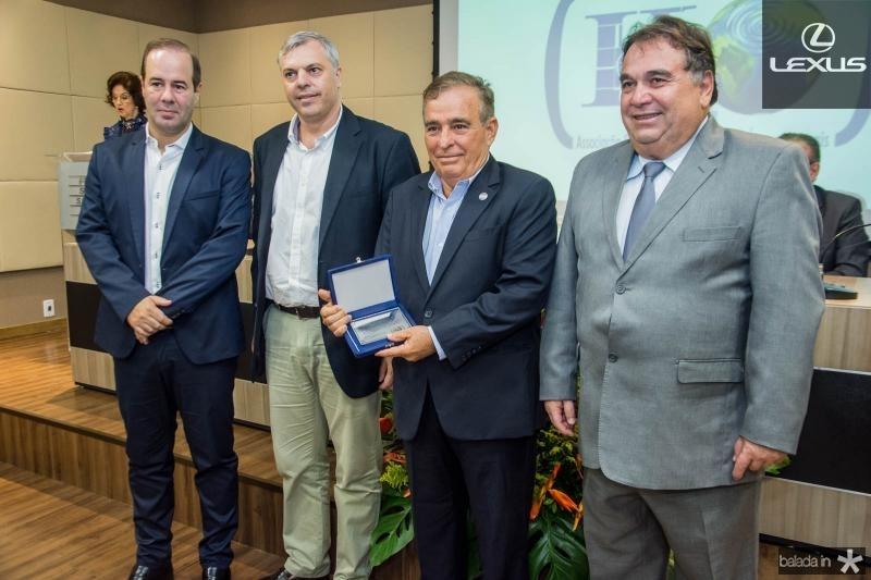 Cesar Ribeiro, Lucas Ferianci, Claudio Targino e Carlos Alberto Lancia