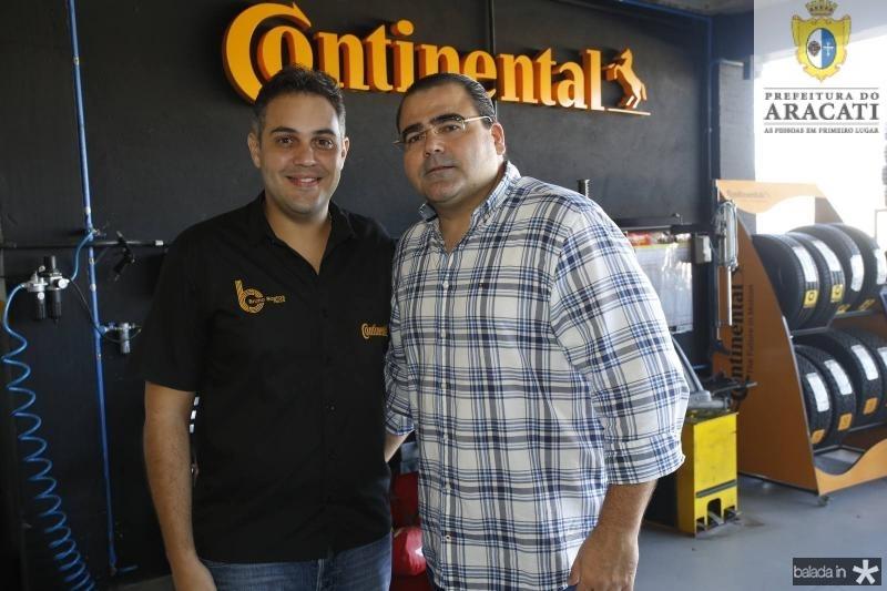 Bruno Bastos e Luciano Cavalcante Neto