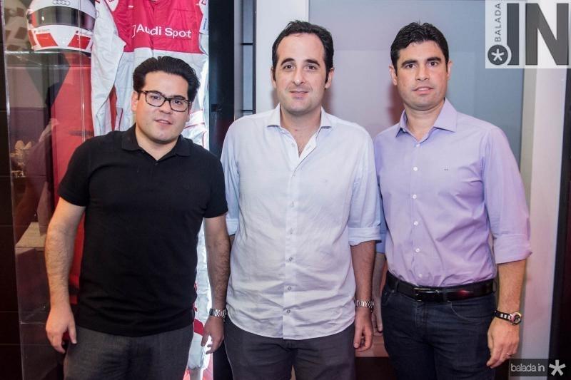 Emilson Pinheiro, Leonardo Carneiro e Bruno Barreira