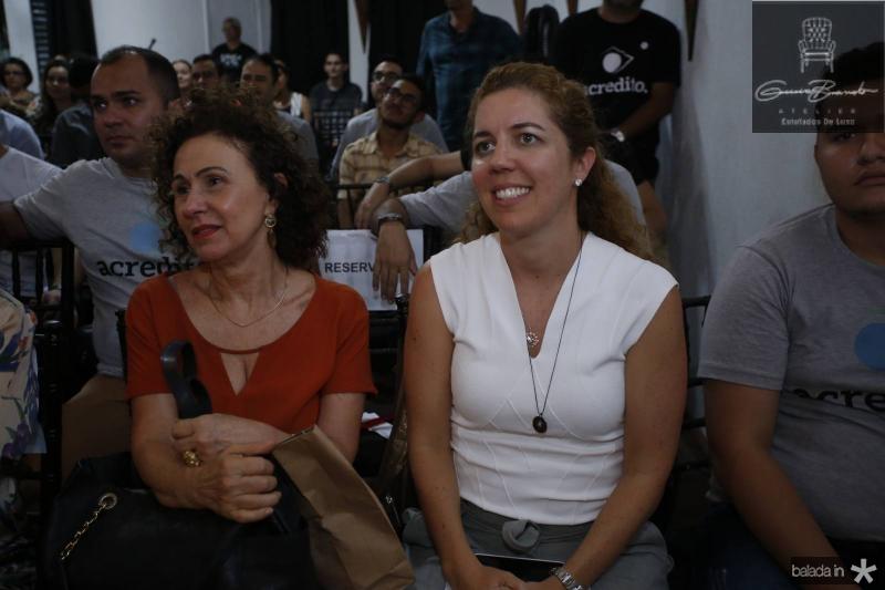 Luiza Serpa e Ticiana Queiroz